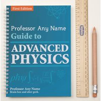 Personalised Notebook - Advanced Physics - Physics Gifts