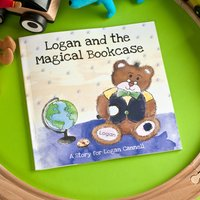Personalised Story Book - The Magical Bookcase - Book Gifts