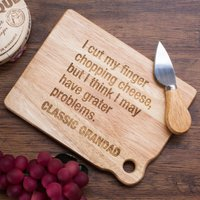 Personalised Mini Chopping Board - Classic Joke - Joke Gifts
