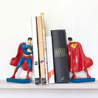 Superman Ceramic Bookends - Superman Gifts