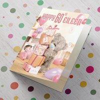 Personalised Me To You Card - 60 Stack of Presents - Presents Gifts