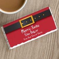 Personalised Chocolate Bar - Secret Santa - Secret Santa Gifts