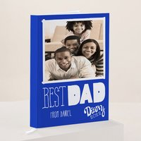 Photo Upload Diary - Best Dad - Diary Gifts