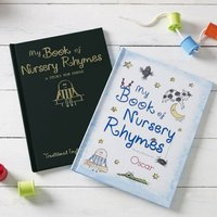 Personalised Hardback Children's Book - Nursery Rhymes - Nursery Gifts