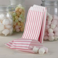 Vintage Lace - Pink Candy Bags (Pack of 25) - Candy Gifts