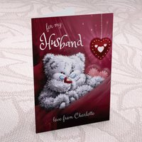 Personalised Me to You Card - For My Husband - Husband Gifts