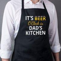 Personalised Apron - Beer O'Clock - Beer Gifts