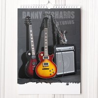 Personalised Music Legend Calendar - 1st Edition - Music Gifts
