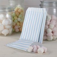 Vintage Lace - Blue Candy Bags (Pack of 25) - Candy Gifts