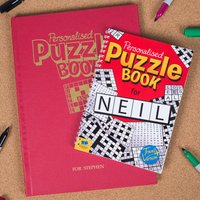 Personalised Puzzle Book - Puzzle Gifts