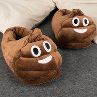 Poo Emoji Slippers - Poo Gifts