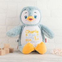 Personalised Cubbies Penguin Soft Toy - Penguin Gifts