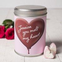 Personalised Hot Chocolate - Hot Chocolate Heart - Hot Chocolate Gifts