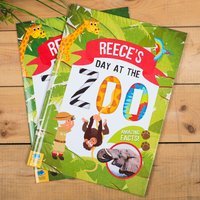 Personalised Story Book - A Day At The Zoo - Book Gifts