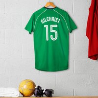 Personalised Adult Official Celtic Football Top - Football Gifts