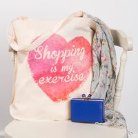 Personalised Tote Bag - My Exercise - Exercise Gifts