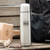 Engraved Stainless Steel Vacuum Flask - Outdoor Adventures - Flask Gifts