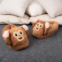 Monkey Emoji Slippers - Monkey Gifts