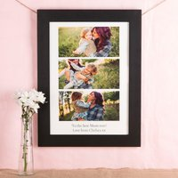 Multi Photo Upload Print - Three Photos & Message - Photos Gifts