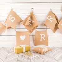 A Vintage Affair Just Married Ribbon & Ring Cushion - Ring Gifts
