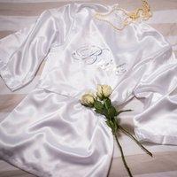 Bridal Charmeuse Robe Set