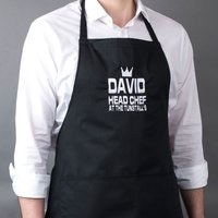 Personalised Apron - Head Chef At... - Gadgets Gifts