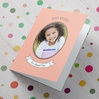 Photo Upload Card - To A Special Niece - Niece Gifts