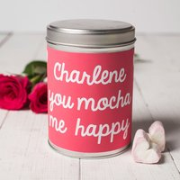 Personalised Hot Chocolate - You Mocha Me Happy - Hot Chocolate Gifts