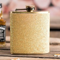 Personalised Sparkletini Hip Flask - Initials - Hip Flask Gifts