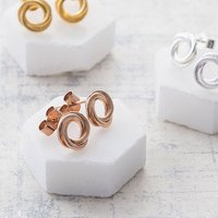 Posh Totty Designs Russian Ring Stud Earrings - Posh Gifts