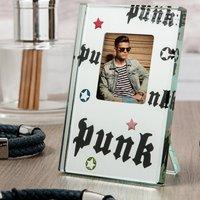 Spaceform Glass Mirror Frame - Punk Slogan - Punk Gifts