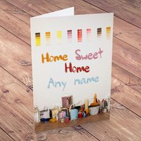 Personalised Card - New Home, Painting - Painting Gifts