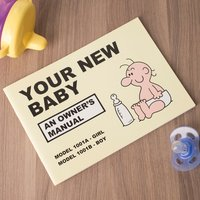 Martin Baxendale's Guide to Your New Baby - Baby Gifts
