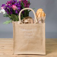 Personalised Canvas Shopping Bag- Cardio - Shopping Gifts