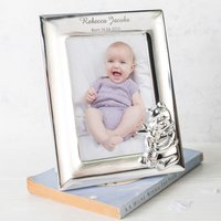 Personalised Silver-Plated Disney Winnie The Pooh Frame
