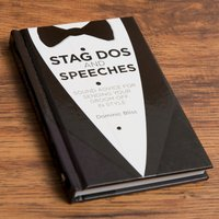 Stag Dos & Speeches Book - Stag Gifts