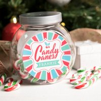 Personalised Candy Canes - Holly - Candy Gifts