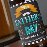 Personalised Beer - Happy Fathers Day