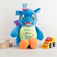Personalised Cubbies Dragon Soft Toy - Toy Gifts
