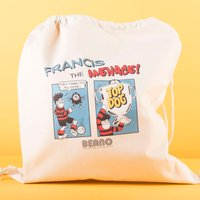 Personalised Beano Classic Drawstring Bag - Top Dog - Beano Gifts