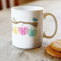 Personalised Mug - Little Birdie For Nana - Cutlery Gifts