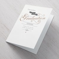Personalised Card - Graduation - First Day Of The Rest Of Your Life - Graduation Gifts