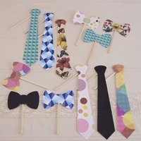 A Vintage Affair Ties Photo Booth Kit - Ties Gifts