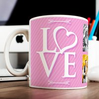 Photo Upload Mug - LOVE, 6 Photos - Photos Gifts