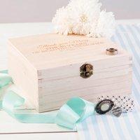 Personalised Storage Box - 40 Years Of Beautiful Memories - Memories Gifts