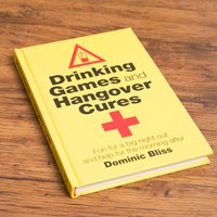 Drinking Games & Hangover Cures Book - Games Gifts