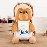 Personalised Cubbies Hedgehog Soft Toy - Toy Gifts