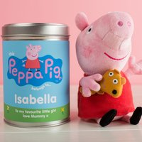 Peppa Pig In Personalised Tin
