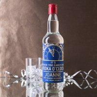 Personalised Vodka - Vodka O'Clock - Vodka Gifts