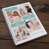 Photo Upload Notebook - Live, Laugh, Love - Laugh Gifts